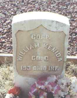 KENIDA, WILLIAM - La Plata County, Colorado | WILLIAM KENIDA - Colorado Gravestone Photos