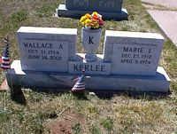 KERLEE, WALLACE A. - La Plata County, Colorado | WALLACE A. KERLEE - Colorado Gravestone Photos