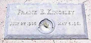 KINGSLEY, FRANK E. - La Plata County, Colorado | FRANK E. KINGSLEY - Colorado Gravestone Photos