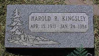 KINGSLEY, HAROLD R. - La Plata County, Colorado | HAROLD R. KINGSLEY - Colorado Gravestone Photos