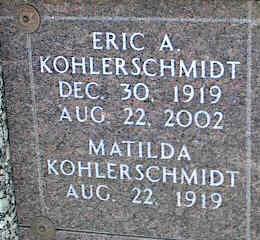 KOHLERSCHMIDT, ERIC A. - La Plata County, Colorado | ERIC A. KOHLERSCHMIDT - Colorado Gravestone Photos