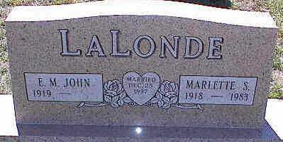 LALONDE, E.M. - La Plata County, Colorado | E.M. LALONDE - Colorado Gravestone Photos