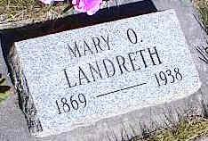 LANDRETH, MARY O. - La Plata County, Colorado | MARY O. LANDRETH - Colorado Gravestone Photos