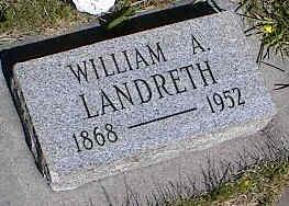 LANDRETH, WILLIAM A. - La Plata County, Colorado | WILLIAM A. LANDRETH - Colorado Gravestone Photos