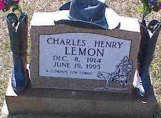 LEMON, CHARLES HENRY - La Plata County, Colorado   CHARLES HENRY LEMON - Colorado Gravestone Photos
