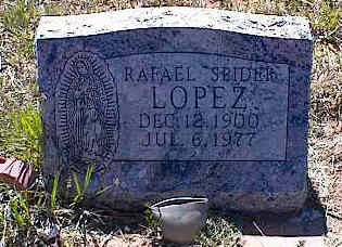 "LOPEZ, RAFAEL ""SPIDER"" - La Plata County, Colorado 