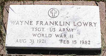 LOWRY, WAYNE FRANKLIN - La Plata County, Colorado | WAYNE FRANKLIN LOWRY - Colorado Gravestone Photos