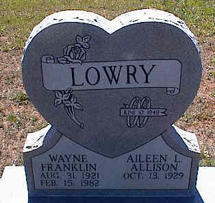 ALLISON LOWRY, AILEEN L. - La Plata County, Colorado | AILEEN L. ALLISON LOWRY - Colorado Gravestone Photos