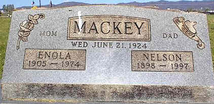 MACKEY, ENOLA - La Plata County, Colorado | ENOLA MACKEY - Colorado Gravestone Photos