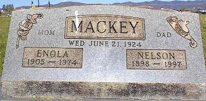 MACKEY, NELSON - La Plata County, Colorado | NELSON MACKEY - Colorado Gravestone Photos