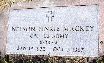 MACKEY, NELSON PINKIE - La Plata County, Colorado | NELSON PINKIE MACKEY - Colorado Gravestone Photos