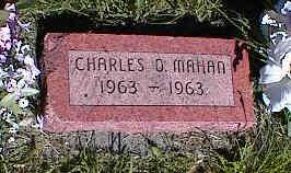MAHAN, CHARLES D. - La Plata County, Colorado | CHARLES D. MAHAN - Colorado Gravestone Photos