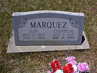 MARQUEZ, CLEOTILDE - La Plata County, Colorado | CLEOTILDE MARQUEZ - Colorado Gravestone Photos