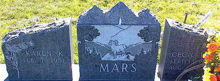 MARS, KAREN K. - La Plata County, Colorado | KAREN K. MARS - Colorado Gravestone Photos