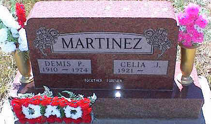 MARTINEZ, DEMIS P. - La Plata County, Colorado | DEMIS P. MARTINEZ - Colorado Gravestone Photos