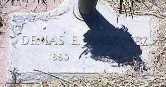 MARTINEZ, DEMAS E. - La Plata County, Colorado   DEMAS E. MARTINEZ - Colorado Gravestone Photos