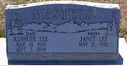 MASTERS, KENNETH LEE - La Plata County, Colorado | KENNETH LEE MASTERS - Colorado Gravestone Photos