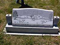 MAYFIELD, CORA M. - La Plata County, Colorado | CORA M. MAYFIELD - Colorado Gravestone Photos