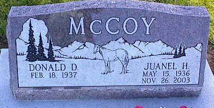 MCCOY, JUANEL H. - La Plata County, Colorado | JUANEL H. MCCOY - Colorado Gravestone Photos