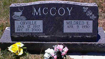 MCCOY, MILDRED E. - La Plata County, Colorado | MILDRED E. MCCOY - Colorado Gravestone Photos
