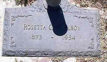 MCELROY, ROSETTA C. - La Plata County, Colorado | ROSETTA C. MCELROY - Colorado Gravestone Photos
