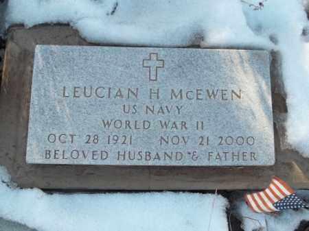 MCEWEN, LEUCIAN H. - La Plata County, Colorado | LEUCIAN H. MCEWEN - Colorado Gravestone Photos