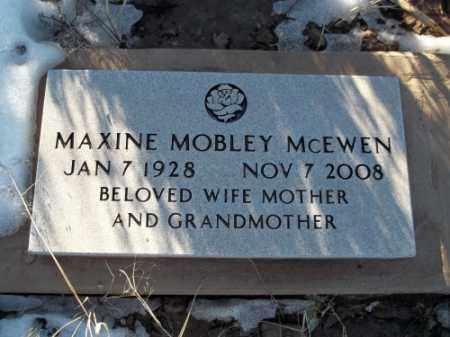 MCEWEN, MAXINE - La Plata County, Colorado | MAXINE MCEWEN - Colorado Gravestone Photos