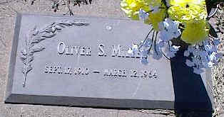 MILLER, OLIVER S. - La Plata County, Colorado | OLIVER S. MILLER - Colorado Gravestone Photos