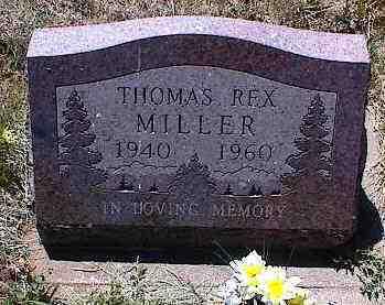 MILLER, THOMAS REX - La Plata County, Colorado | THOMAS REX MILLER - Colorado Gravestone Photos