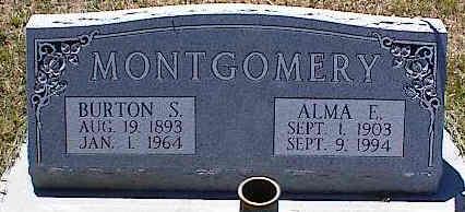 MONTGOMERY, ALMA E. - La Plata County, Colorado | ALMA E. MONTGOMERY - Colorado Gravestone Photos