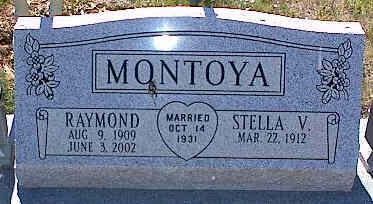 MONTOYA, STELLA V. - La Plata County, Colorado | STELLA V. MONTOYA - Colorado Gravestone Photos