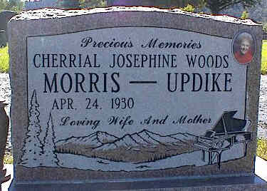 MORRIS-UPDIKE, CHERRIAL JOSEPHINE WOODS - La Plata County, Colorado | CHERRIAL JOSEPHINE WOODS MORRIS-UPDIKE - Colorado Gravestone Photos