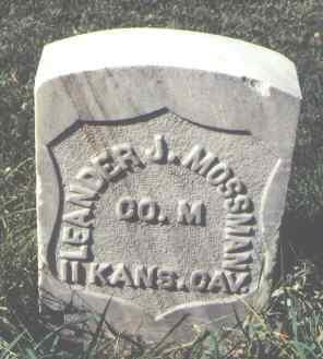 MOSSMAN, LEANDER J. - La Plata County, Colorado | LEANDER J. MOSSMAN - Colorado Gravestone Photos