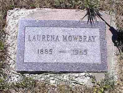 MOWSRAY, LOURENA - La Plata County, Colorado | LOURENA MOWSRAY - Colorado Gravestone Photos
