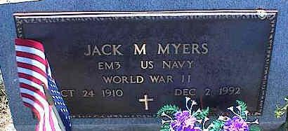MYERS, JACK M. - La Plata County, Colorado | JACK M. MYERS - Colorado Gravestone Photos