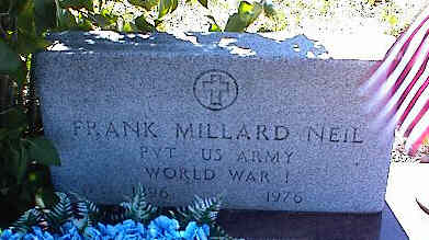NEIL, FRANK MILLARD - La Plata County, Colorado | FRANK MILLARD NEIL - Colorado Gravestone Photos