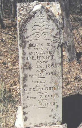 OLBERT, ELIZA - La Plata County, Colorado | ELIZA OLBERT - Colorado Gravestone Photos