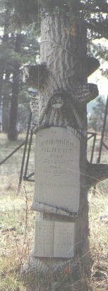 OLBERT, FRIEDRICH - La Plata County, Colorado | FRIEDRICH OLBERT - Colorado Gravestone Photos