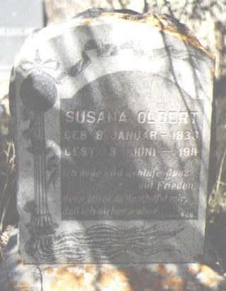 OLBERT, SUSANA - La Plata County, Colorado | SUSANA OLBERT - Colorado Gravestone Photos