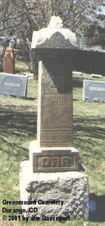 ORR, ROBERT J. - La Plata County, Colorado | ROBERT J. ORR - Colorado Gravestone Photos
