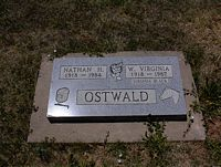 BLACK OSTWALD, W. VIRGINIA - La Plata County, Colorado | W. VIRGINIA BLACK OSTWALD - Colorado Gravestone Photos