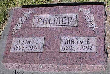 PALMER, MARY E. - La Plata County, Colorado | MARY E. PALMER - Colorado Gravestone Photos