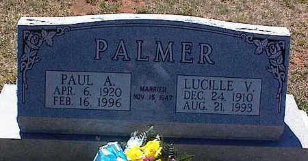 PALMER, LUCILLE V. - La Plata County, Colorado | LUCILLE V. PALMER - Colorado Gravestone Photos