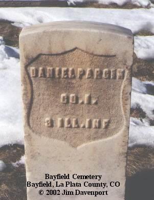 PARGIN, DANIEL - La Plata County, Colorado | DANIEL PARGIN - Colorado Gravestone Photos
