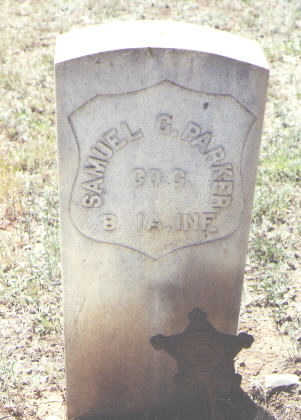 PARKER, SAMUEL G. - La Plata County, Colorado | SAMUEL G. PARKER - Colorado Gravestone Photos