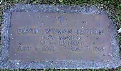 PATTON, DAVID WYMAN - La Plata County, Colorado | DAVID WYMAN PATTON - Colorado Gravestone Photos