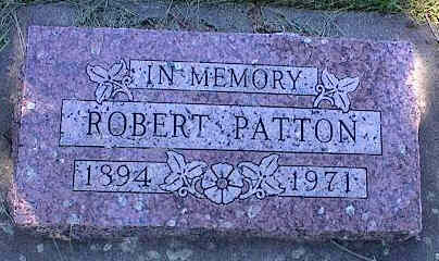 PATTON, ROBERT - La Plata County, Colorado | ROBERT PATTON - Colorado Gravestone Photos