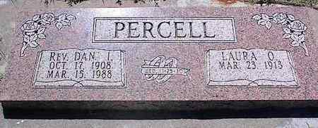 PERCELL, REV. DAN I. - La Plata County, Colorado | REV. DAN I. PERCELL - Colorado Gravestone Photos