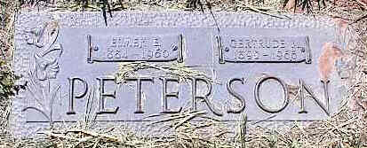 PETERSON, GERTRUDE - La Plata County, Colorado | GERTRUDE PETERSON - Colorado Gravestone Photos