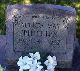 PHILLIPS, ARLETA MAY - La Plata County, Colorado | ARLETA MAY PHILLIPS - Colorado Gravestone Photos